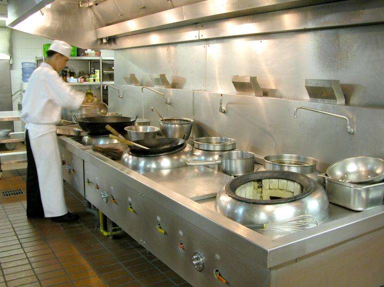 Thiết bị bếp nhà hàng khách sạn, các vật dụng trong phòng bếp nhà hàng khách sạn cần phải có