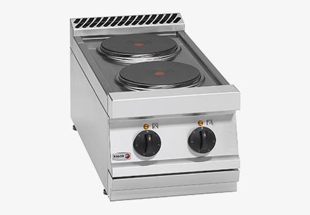 Bếp âu 2 bếp không lò nướng dùng điện