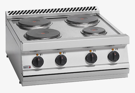 Bếp âu 4 bếp không lò nướng dùng điện