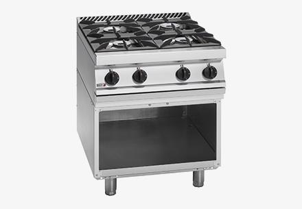 Bếp âu 4 bếp không lò nướng dùng gas