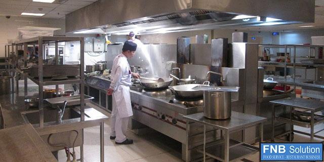 bếp nhà hàng bệnh viện
