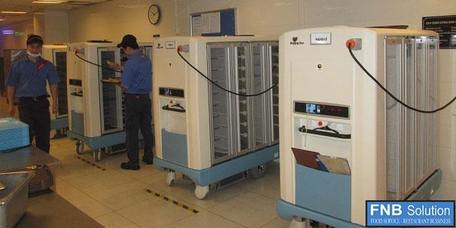 thiết kế, cung cấp, lắp đặt thiết bị Bếp Công Nghiệp cho khách sạn Bênh viện 5 Sao Quốc Tế VinMec