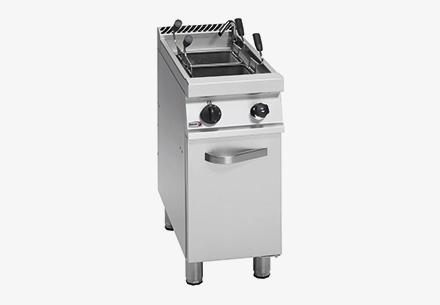 Thiết bị trần mì pasta cooker dùng gas