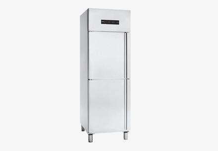 Tủ lạnh đông 2 cánh inox