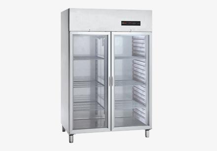 Tủ lạnh mát 2 cánh bằng kính