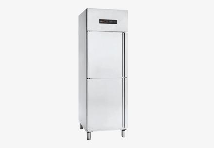 Tủ lạnh mát 2 cánh inox