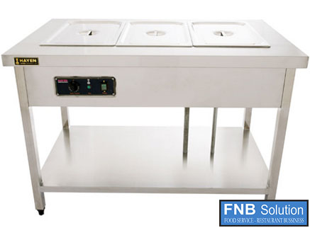 Khay, Tủ giữ nóng thức ăn bằng hơi nước
