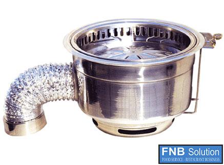 Lẩu nướng không khói dùng than