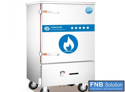 Tủ nấu cơm 6 khay dùng gas và điện TCGD-6