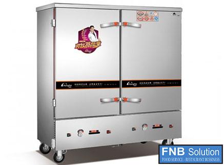 Tủ nấu cơm công nghiệp 20 khay dùng gas JY-ZG-500