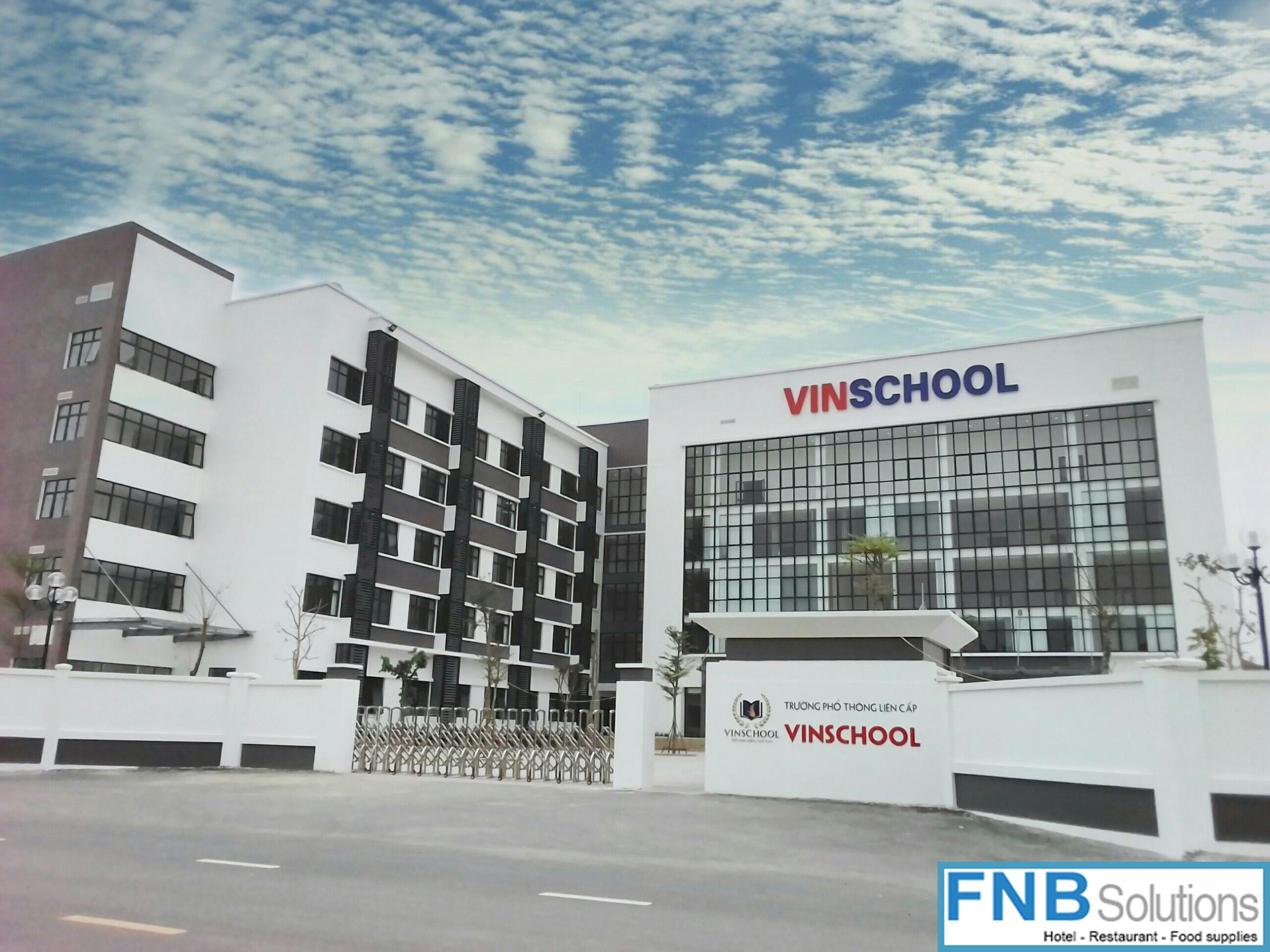 Dự án trường Vinschool Phổ Thông Liên Cấp Nam An Khánh